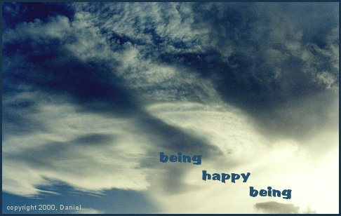 Being Happy Being