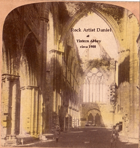 Daniel at Tintern Abbey