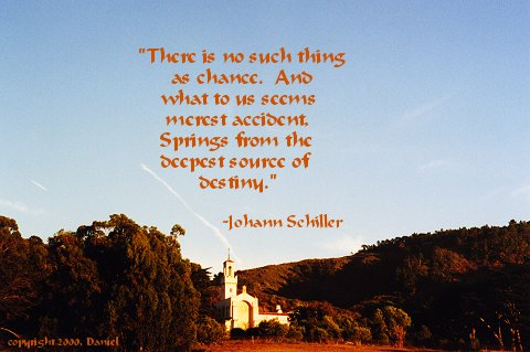 Johann Schiller - quote on Destiny